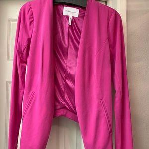 BCBG hot pink blazer
